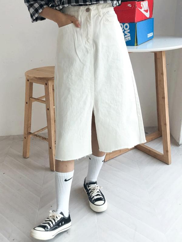 Part 7 wide skirt
