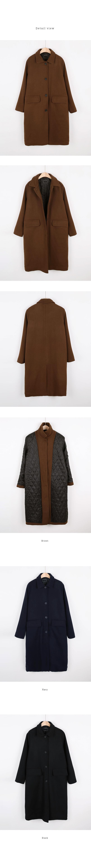 Single padding coat
