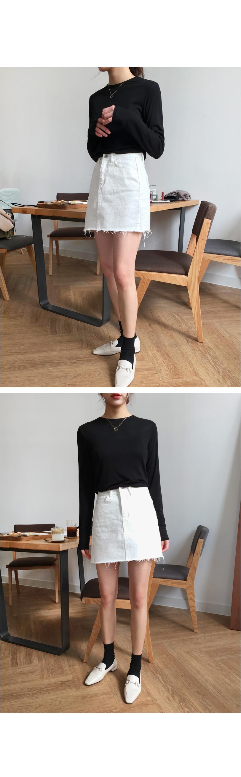 Spring miniskirt