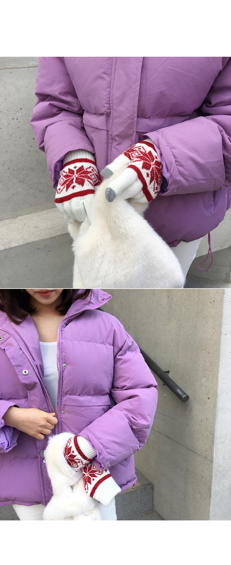 Rabbit mini bag teal jean gray