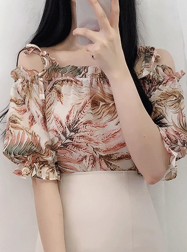 Bali off shoulder blouse