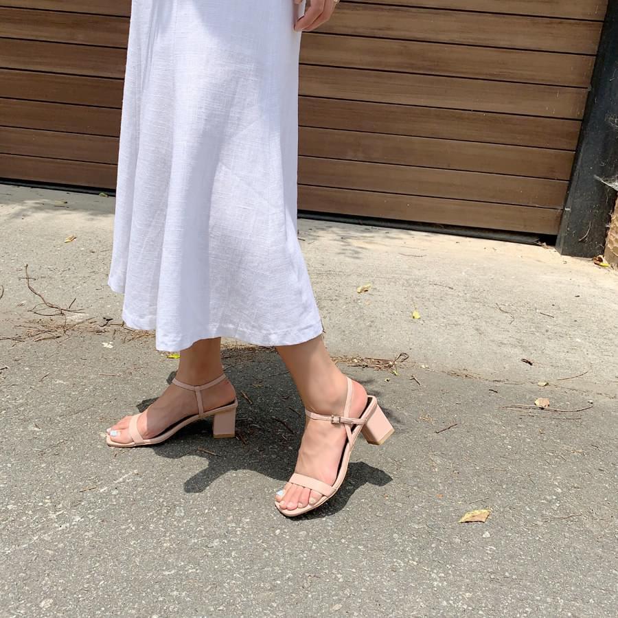 Date line sandals
