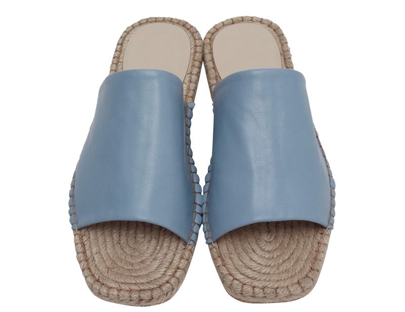 Wide cover espadrille slipper_H