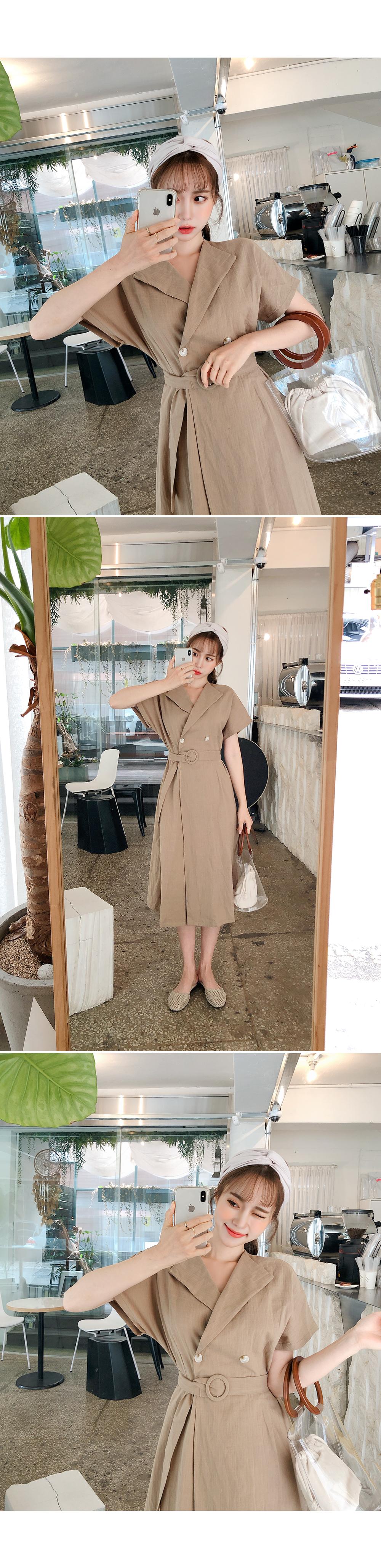 Everyday Daily Look Dress + Belt SET