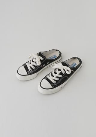 simple mule sneakers (2colors)