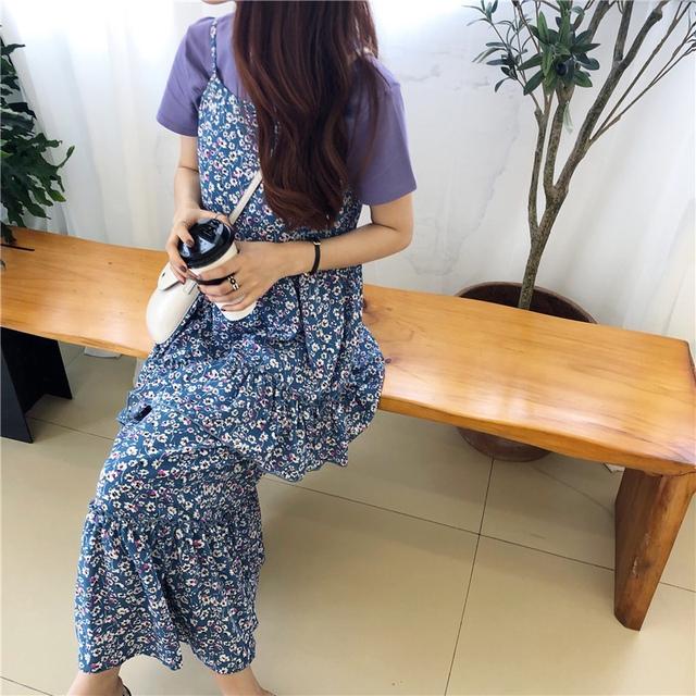 Purple Flower Kankanasi Dress
