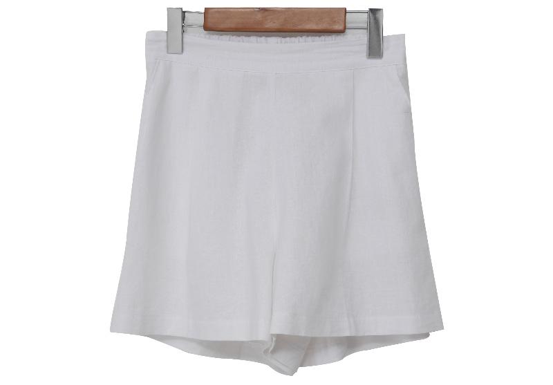 Sand basic banding shorts_Y (size : free)