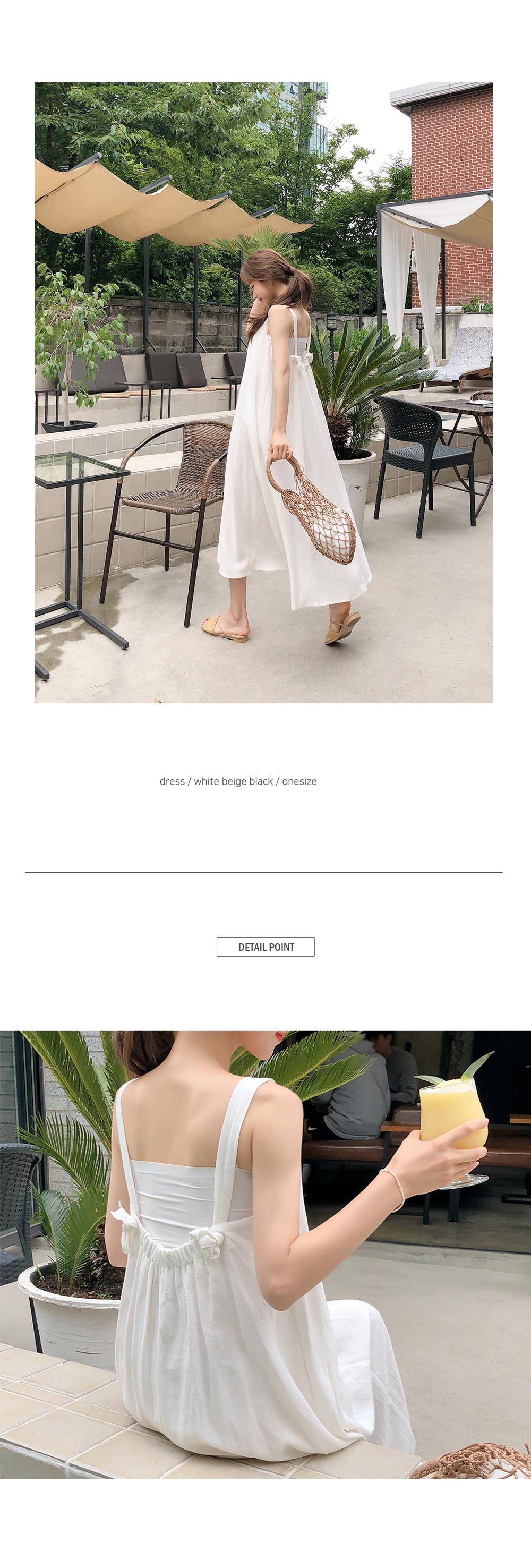 Rear reversible pretty clothes dress