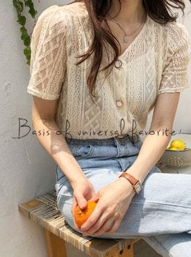 Lace mood blouse