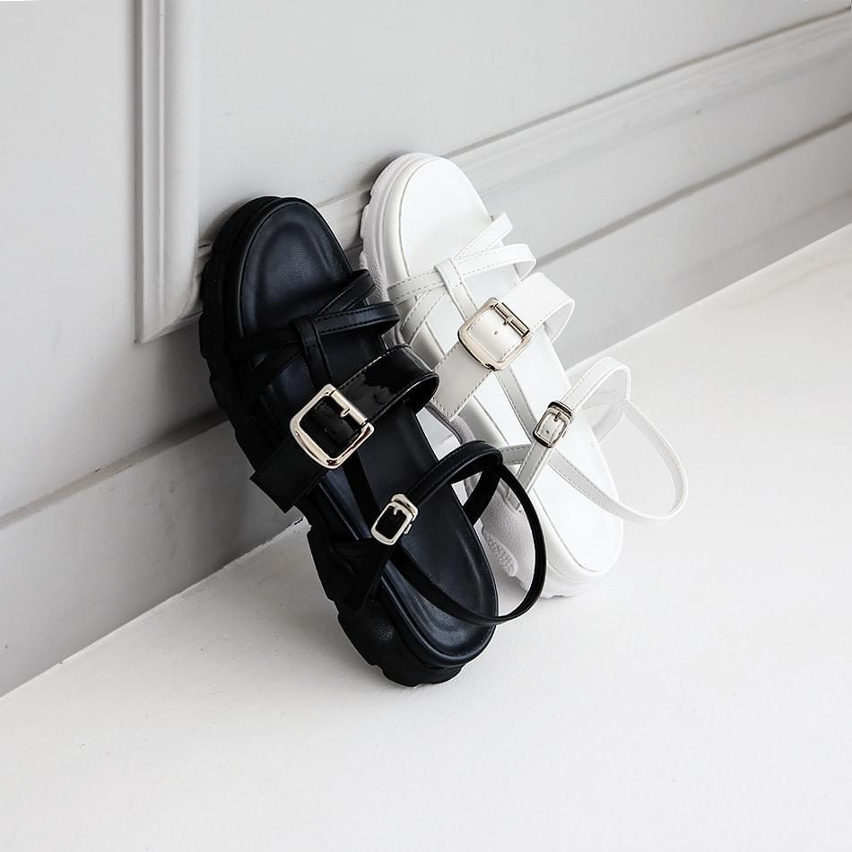 Ebelon sling back sandals 4cm