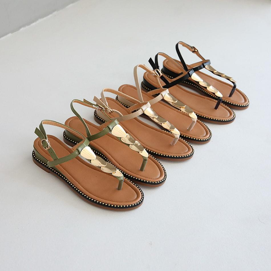 Monty Ackerley Slingback Sandals 4cm