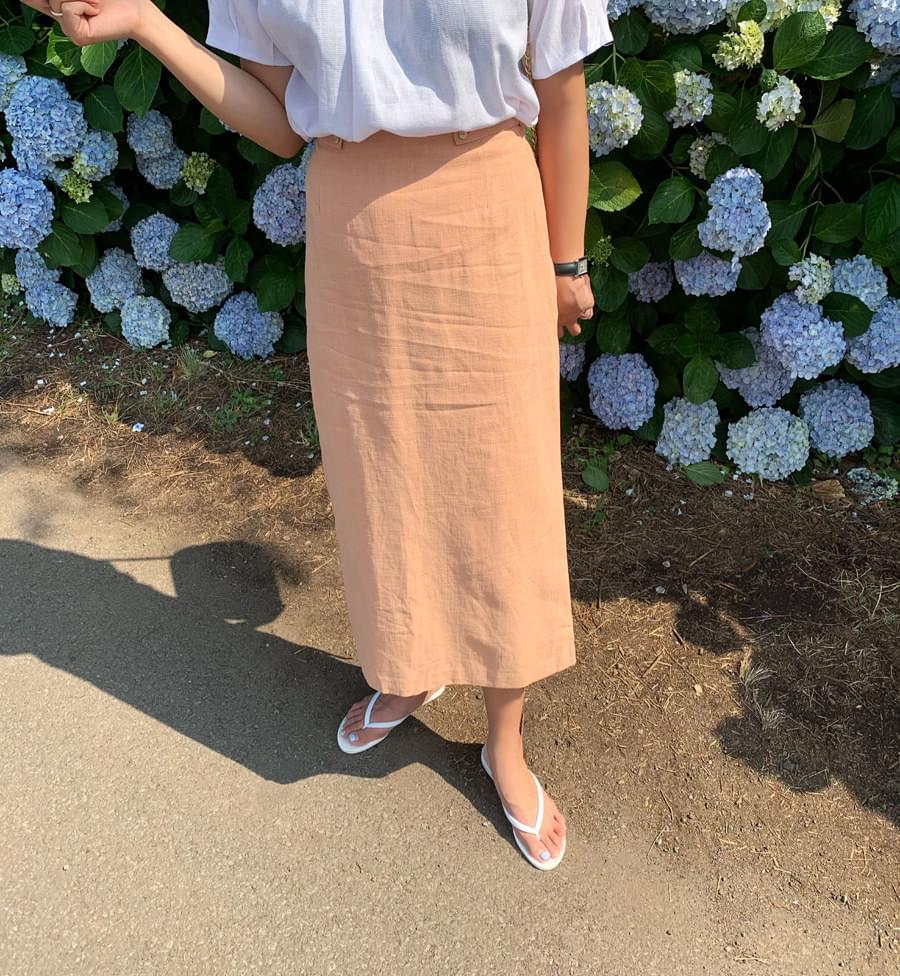 HS Button Skirt