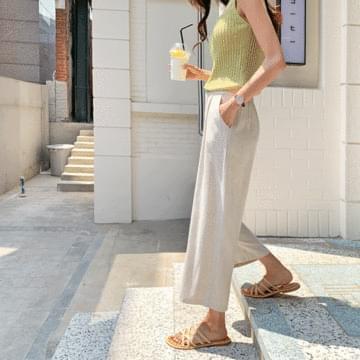 Sophie Linen Wide Pants
