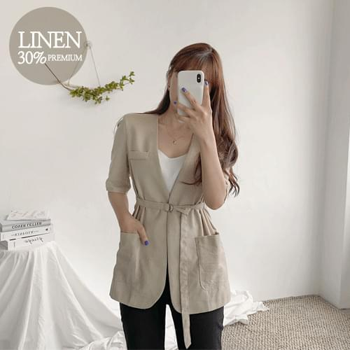 Ronnie Linen V Jacket