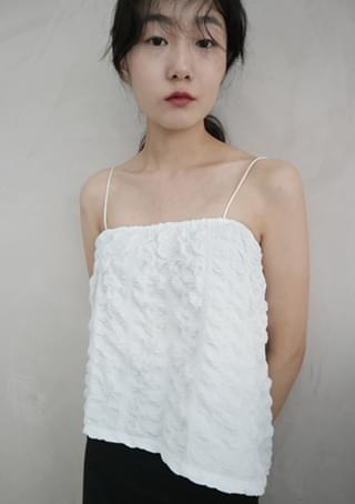 unique texture sleeveless