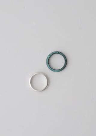 matt bumpy ring