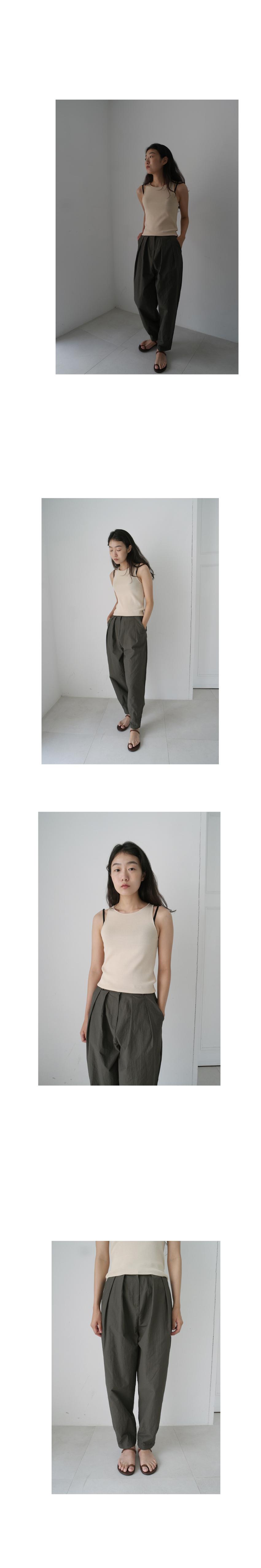 simple cool line sleeveless