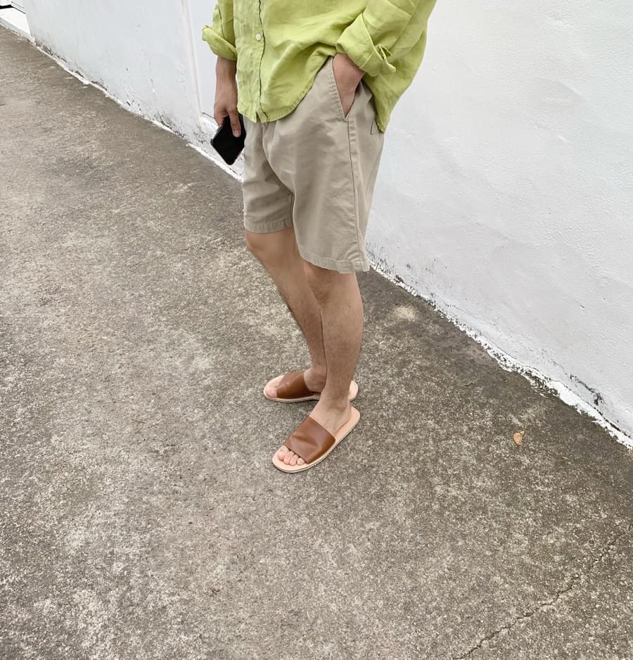 Cotton Short Pants