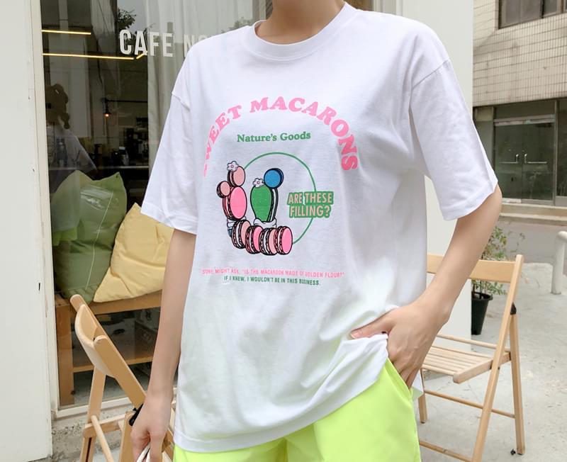 Macaroon Rice Tea