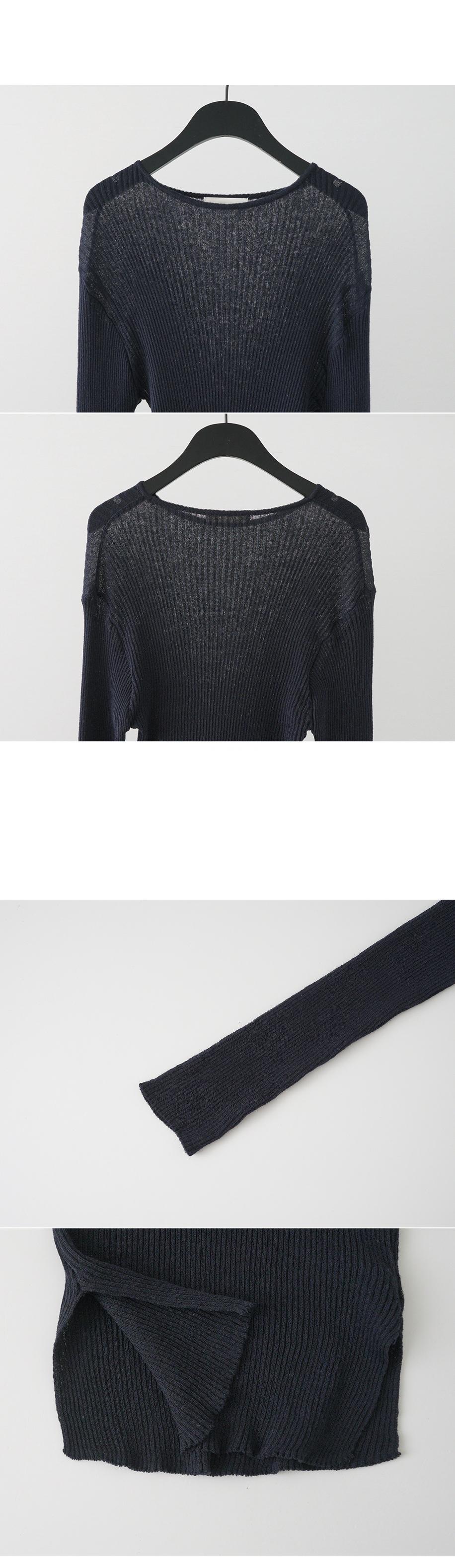 line slit knit