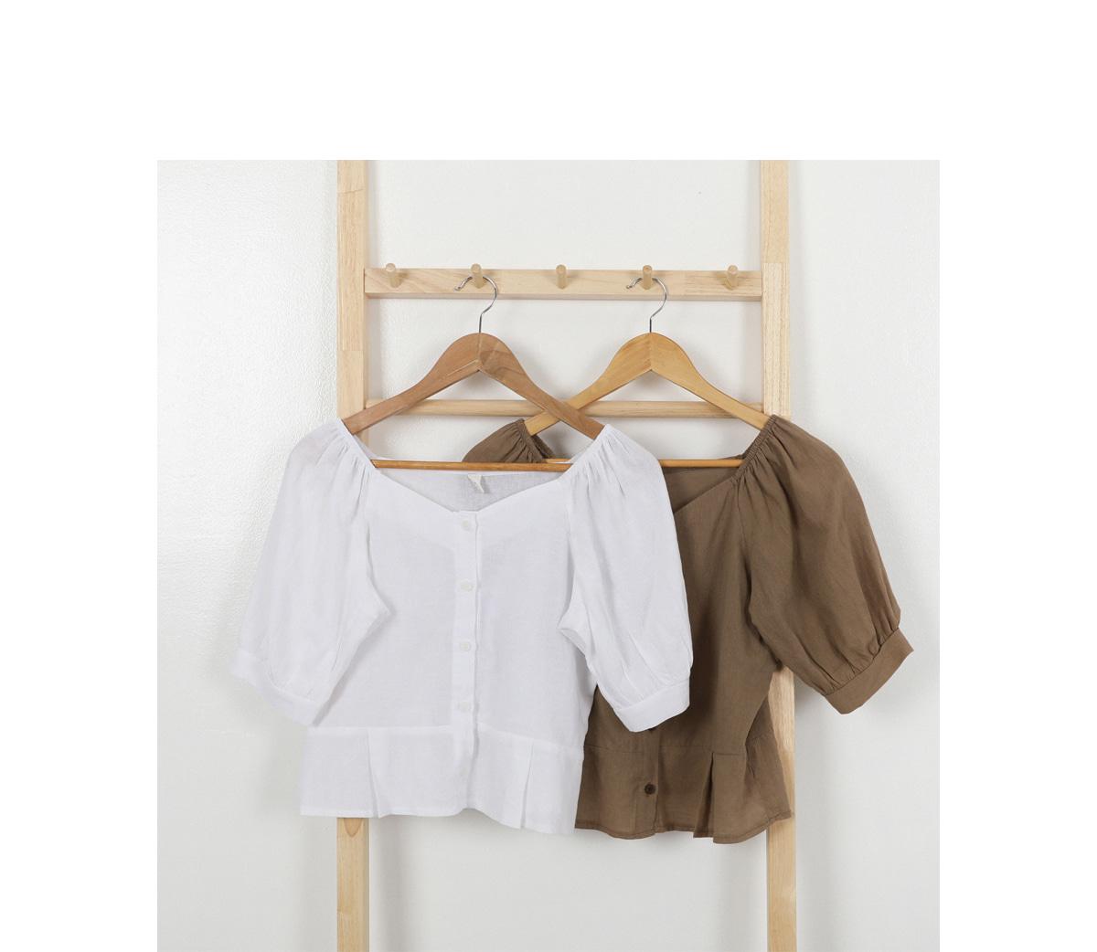 Minnet linen blouse