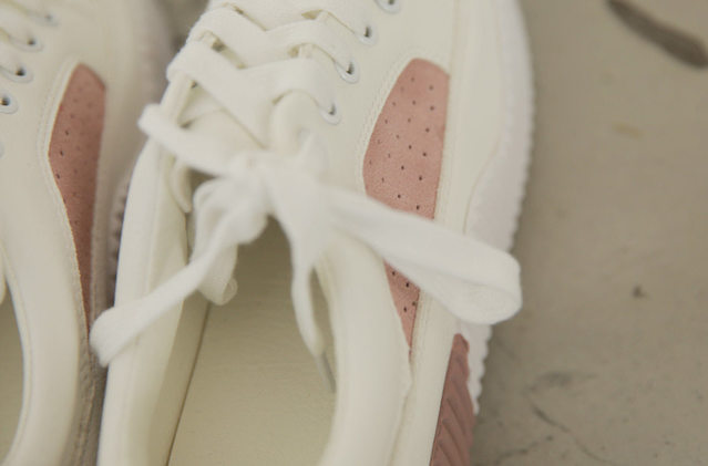 Soap color sneakers