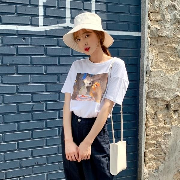 Creamy Short Sleeve T