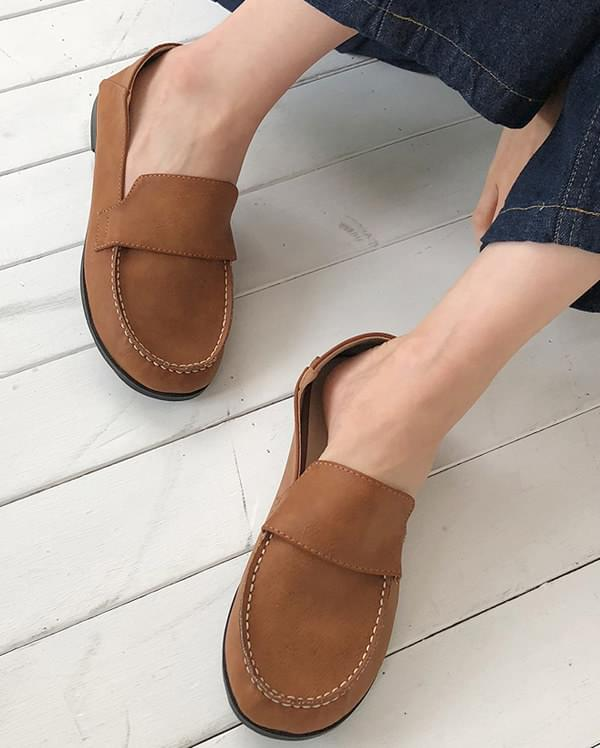 may cutie round loafer