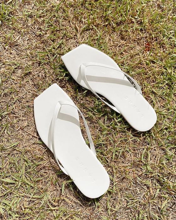 애나멜 스퀘어 쪼리 shoes - 10color
