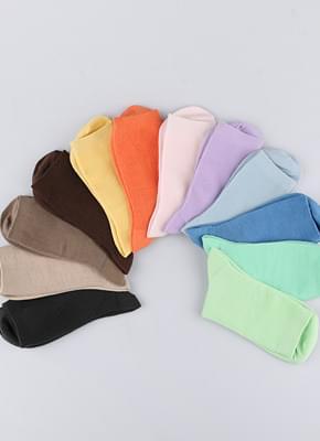 12 Color Basic Socks