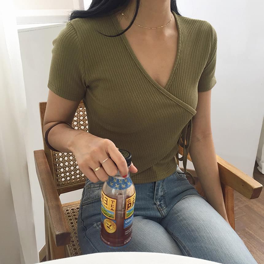 Golji Wrap Slim Tee