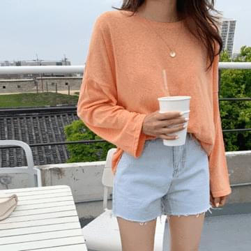 Welling Linen Long Sleeve T-shirt