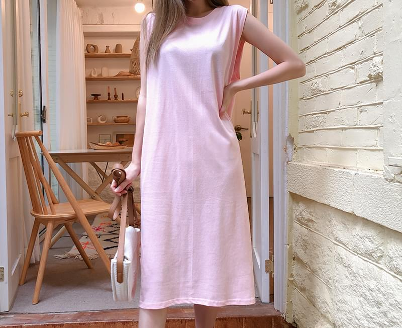 Comfortable plain dress