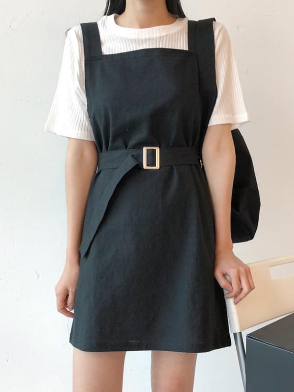 Ending suspenders dress ワンピース