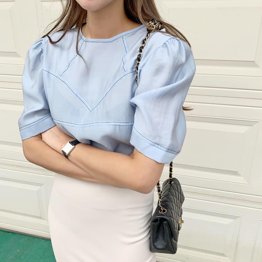 Bling stitch blouse 襯衫