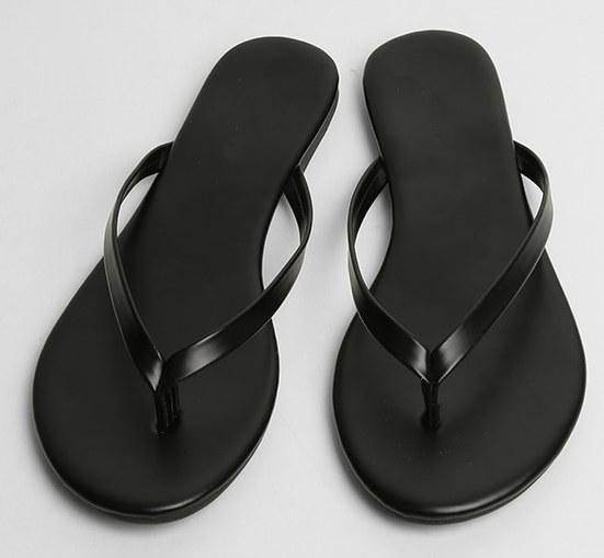 easy outline flip flops