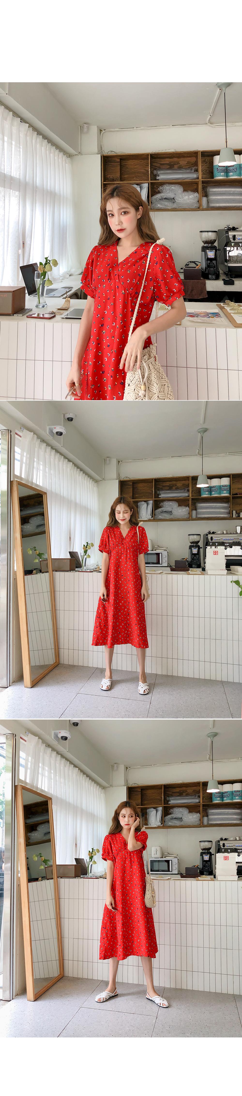 Intense Red Dress