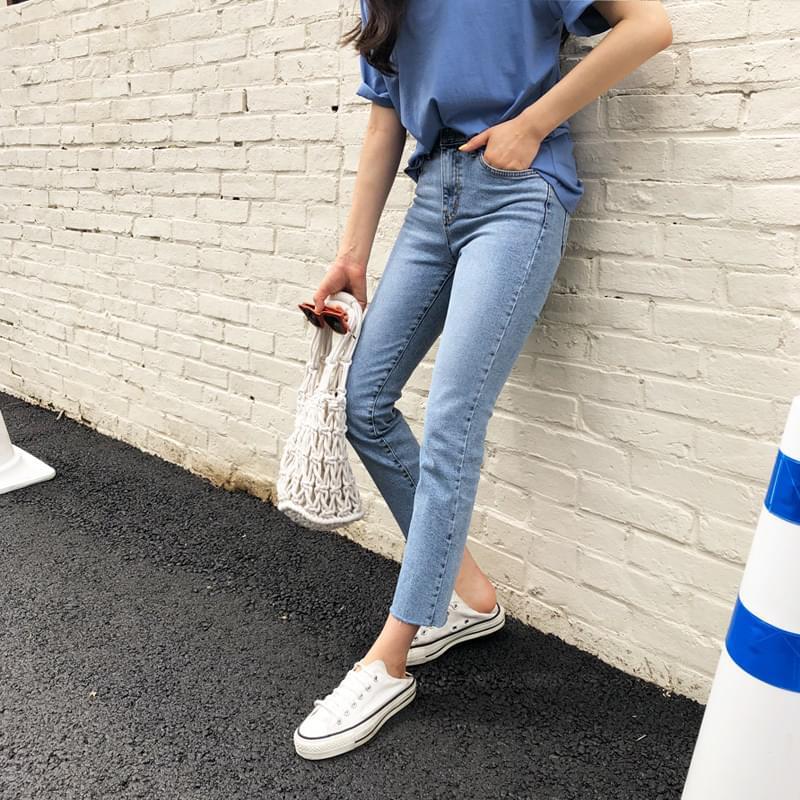 중청일자 pants