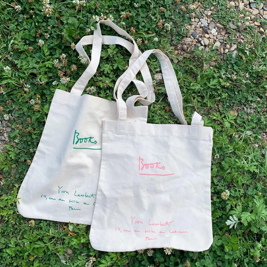 Buch lettering eco bag