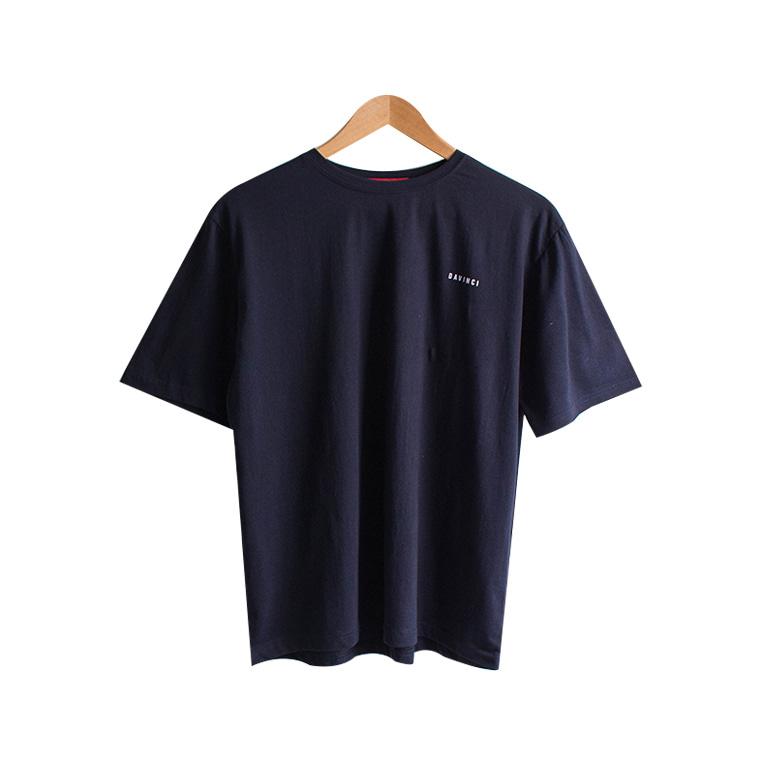 Unique da vinci lettering t-shirt