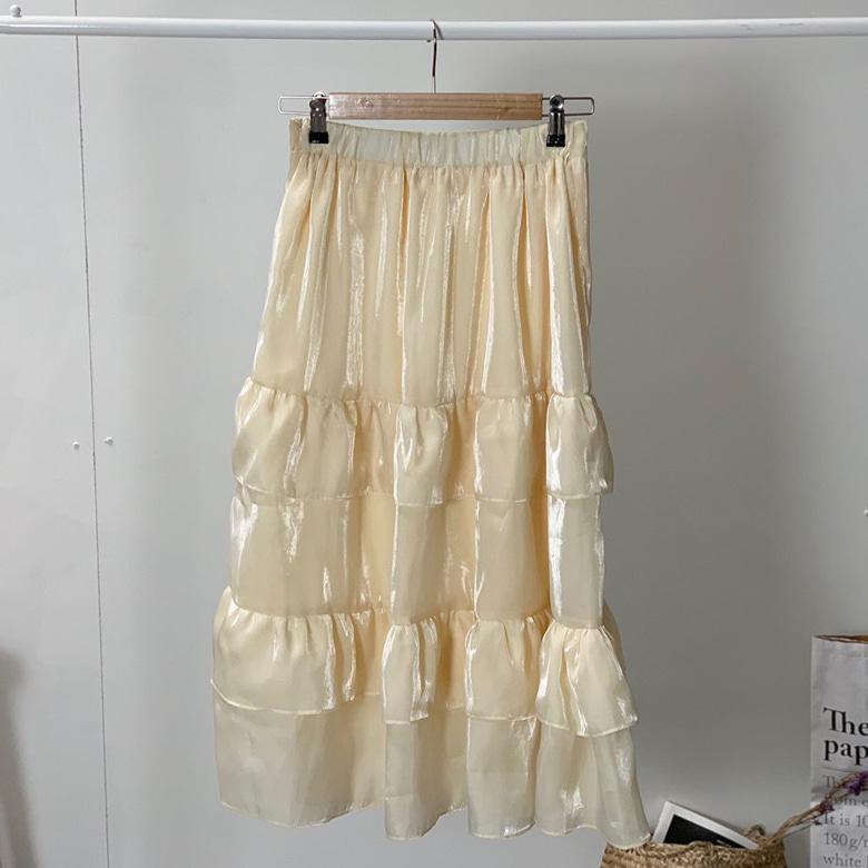 Romi Kangkang Look Long Skirt