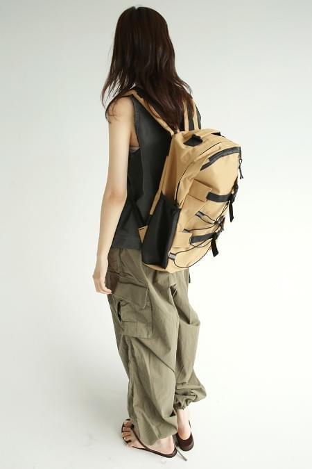 side net strap-backpack (2colors)