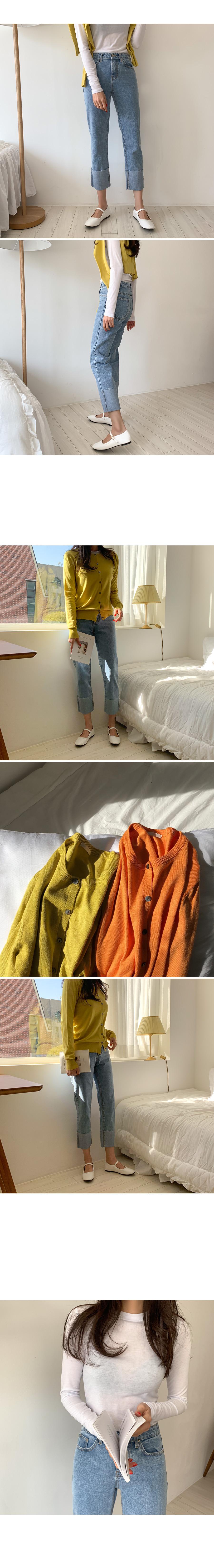 Horizon Roll-up Denim Pants