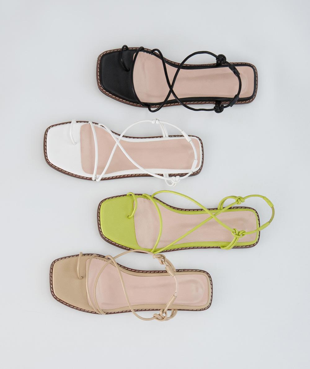 slender strap sandal