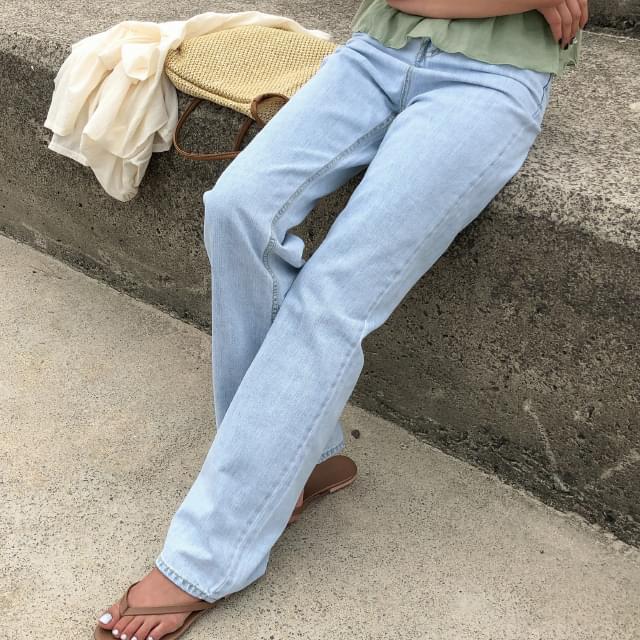 maxi hidden banding jean