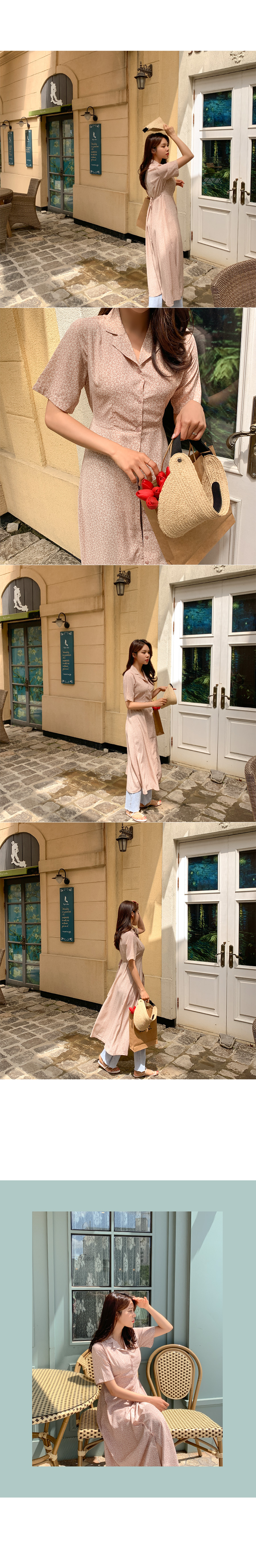 Nha Trang Flower Color Dress