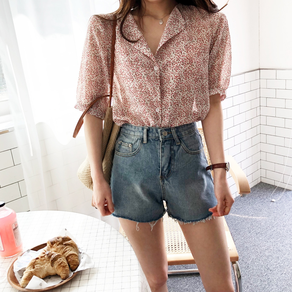 Cherry Chip One Blouse