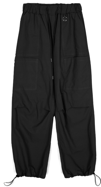 pocket banding jogger pants - men