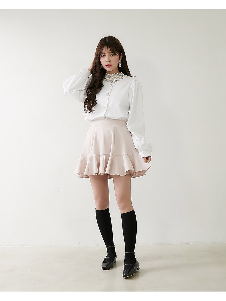 Non-rose frilly skirt