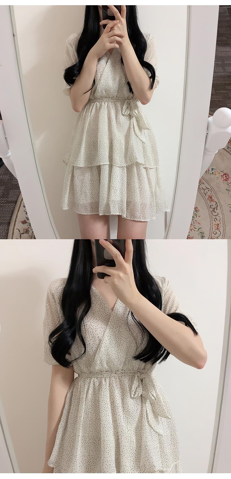 Dot Kang Kang Wrap Dress